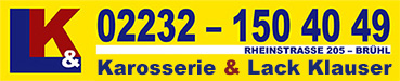 Karosserie & Lack Klauser, Brühl Logo